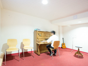 Musikübungsraum des ÖJAB-Hauses Liesing.