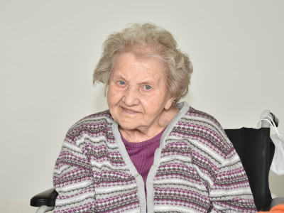 Portraitfoto Maria Dorrek.