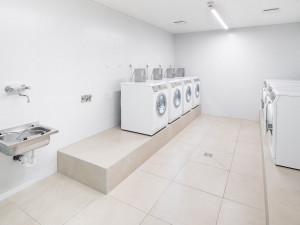 Laundry room at the ÖJAB-Haus Niederösterreich 1. Foto: myNext.