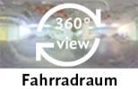 360-Grad-Aufnahme: Fahrradraum