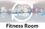 360°-view Fitness room