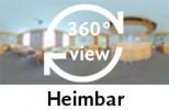 360-Grad-Aufnahme einer Heimbar.