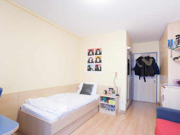 Einbettzimmer des ÖJAB-Hauses Burgenland 2.