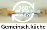 360-Grad-Aufnahme einer Gemeinschaftsküche