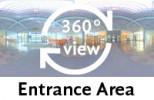 360°-view Entrance Area
