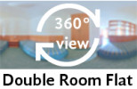 360-view of a double room flat