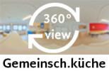360-Grad-Aufnahme: Gemeinschaftsküche