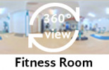 360-view of the Fitness Room.