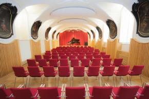 Der Antonio-Vivaldi-Saal im ÖJAB-Haus Johannesgasse.