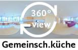 360-Grad-Aufnahme Gemeinschaftsküche