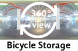 360°-view Bicycle Storage