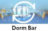 360° view of dorm bar