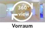 360-Grad-Aufnahme des Vorraums