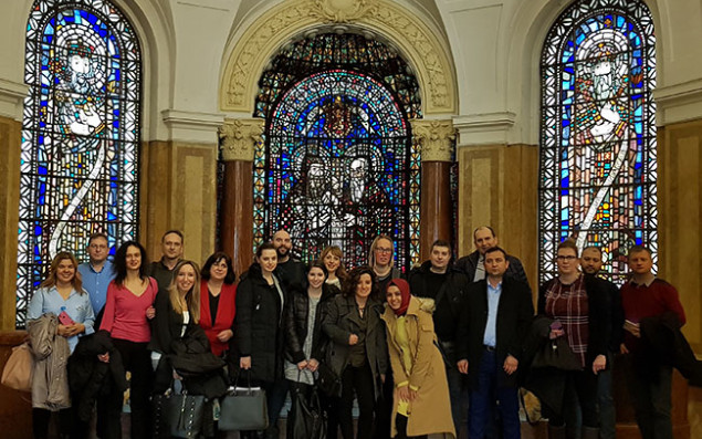 Participants at the kick-off meeting of ALMIT from 11.02. - 14.02.2018. Photo: University of Sofia.