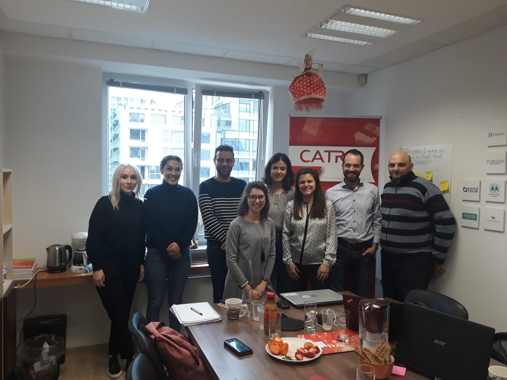Mitglieder des Projekts COMPASS beim Kick Off-Meeting in Sofia. Foto: CATRO.