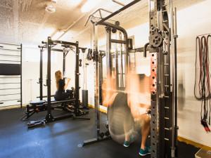 Fitnessraum des ÖJAB-Hauses Meidling.