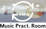 360-view of the Music Practice Room.