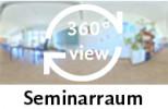 360-Grad-Aufnahme des Seminarraums
