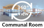 360-view of a Communal Room.