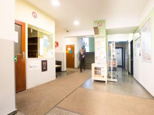 Foyer of the ÖJAB-Haus Niederösterreich 2.