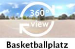 360-Grad-Aufnahme des Basketballplatzes