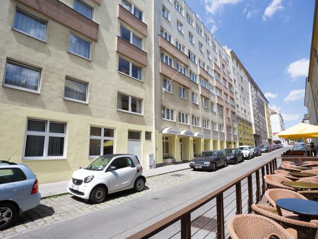 Außenaufnahme des ÖJAB-Hauses Burgenland 3.