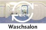 360-Grad-Aufnahme des Waschsalons