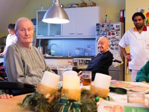 Gemeinschaftsküche im ÖJAB-Haus Neumargareten.
