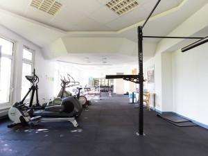 Fitnessraum des ÖJAB-Hauses Donaufeld.