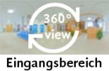 360-Grad-Aufnahme des Eingangsbereichs