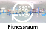 360-Grad-Aufnahme Fitnessraum