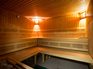 Sauna of the ÖJAB-Haus Eisenstadt.