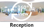 360-view of the Reception.