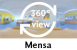 360-Grad-Aufnahme der Mensa
