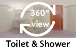 360° view of bathroom