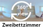360-Grad-Aufnahme: Zweibettzimmer