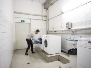Waschsalon des ÖJAB-Hauses Steiermark.