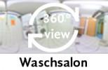 360-Grad-Aufnahme: Waschsalon