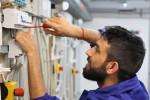 Foto 6:  Den Lehrabschluss am BPI der ÖJAB nachholen macht Spaß, hier der BerufsbereichElektrotechnik.