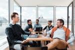 Der Andy's Co-Working-Space im Studierendenwohnheim ÖJAB-Haus Niederösterreich bietet den Studierenden Gelegenheit, mit der Berufswelt in Kontakt zu kommen. – Foto: andys.cc, Moritz Weixelberger.