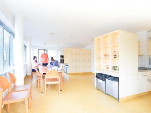 Gemeinschaftsküchen im ÖJAB-Europahaus Dr. Bruno Buchwieser.