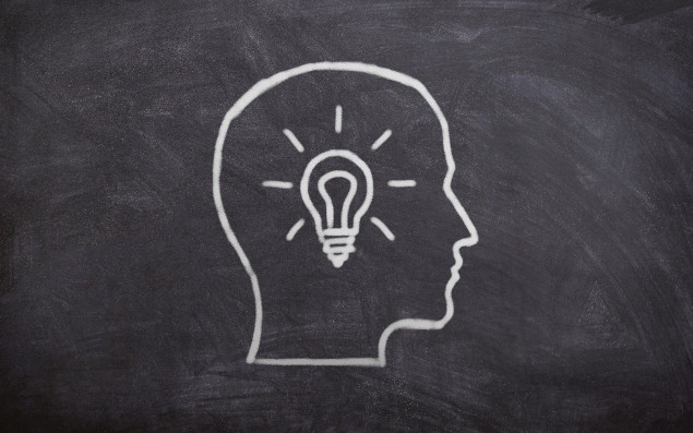 symbolic image about having an idea
