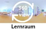 360-Grad-Aufnahme des Lernraums