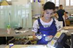 Foto 4:  Berufe entdecken mit SET: Warum nicht zum Beispiel Glasbautechnikerin?