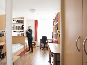 Zweibettzimmer im ÖJAB-Haus Salzburg in Wien.