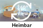 360-Grad-Aufnahme: Heimbar