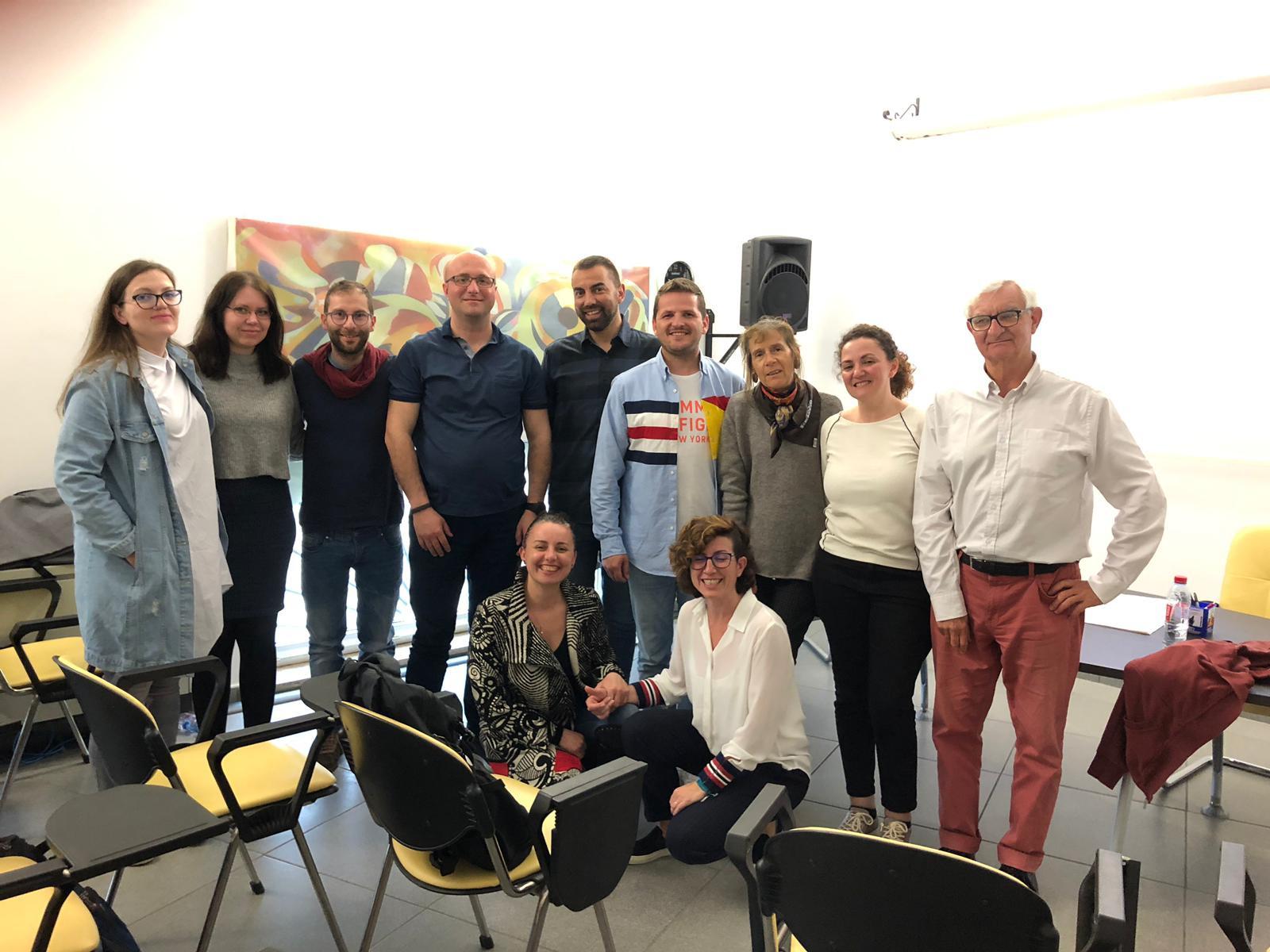 TeilnehmerInnen am Training in Mesagne. Foto: IAMHC.