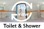360-view of bathroom