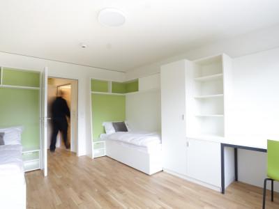Twin Room Double XL at the ÖJAB-Haus Niederösterreich 1.