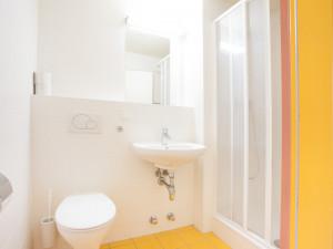 Badezimmer im ÖJAB-Haus Liesing.